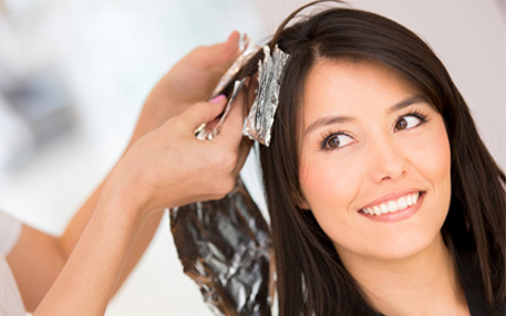 Hair Colouring And Streaks