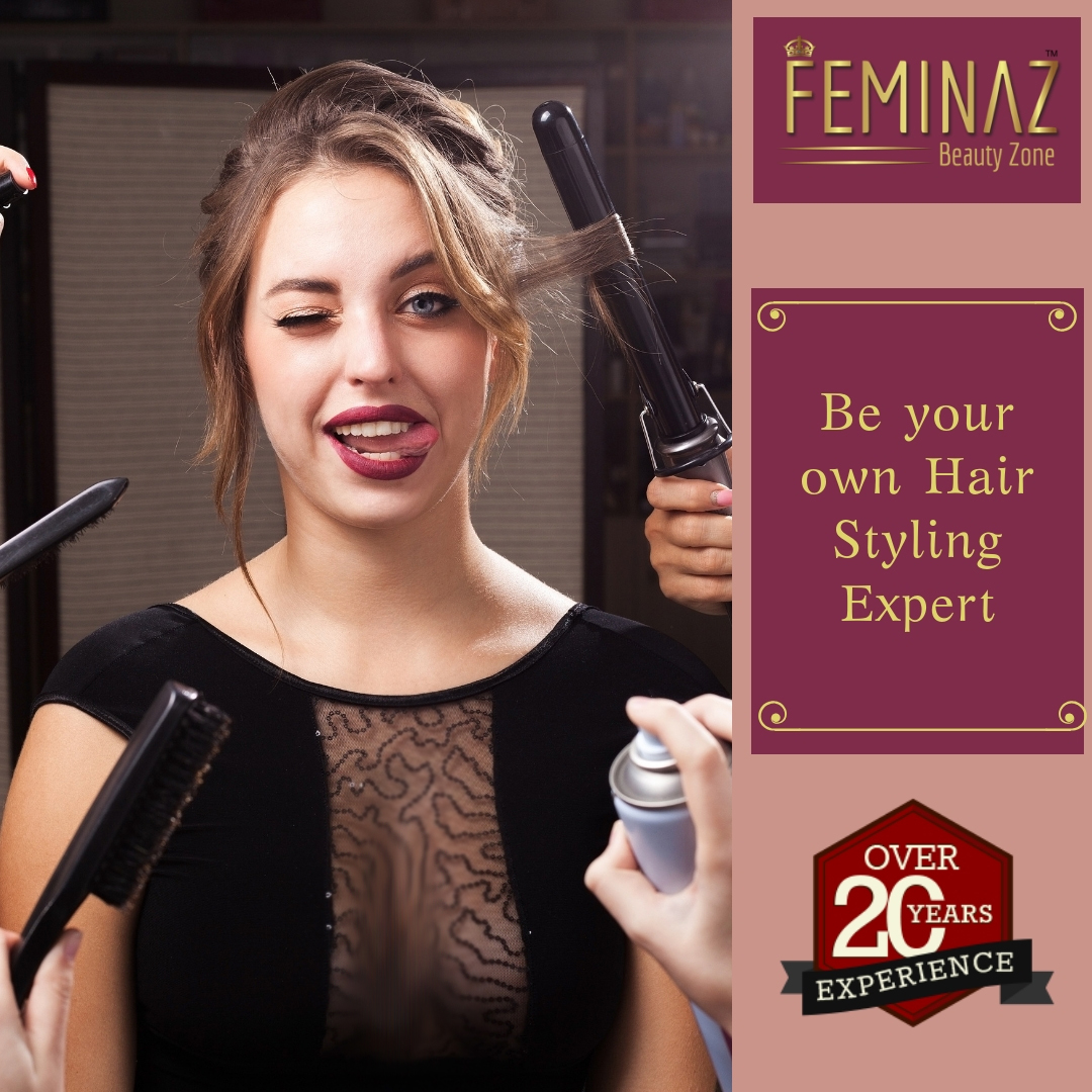 self hair styling course