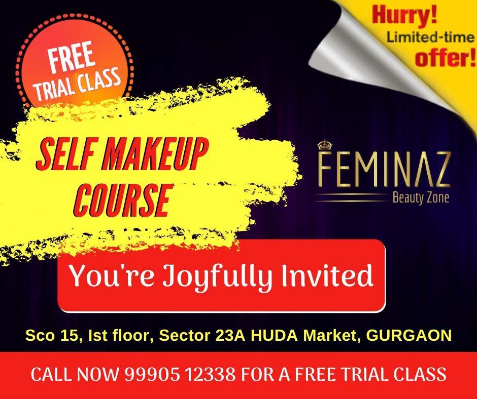 Self Makeup Course In Gurgaon